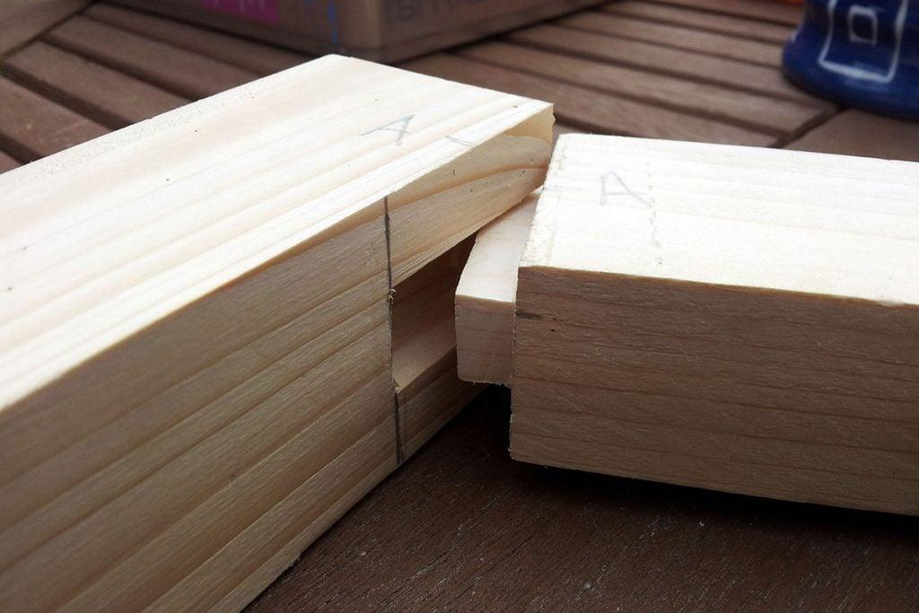 اتصال کام و زبانه در چوب