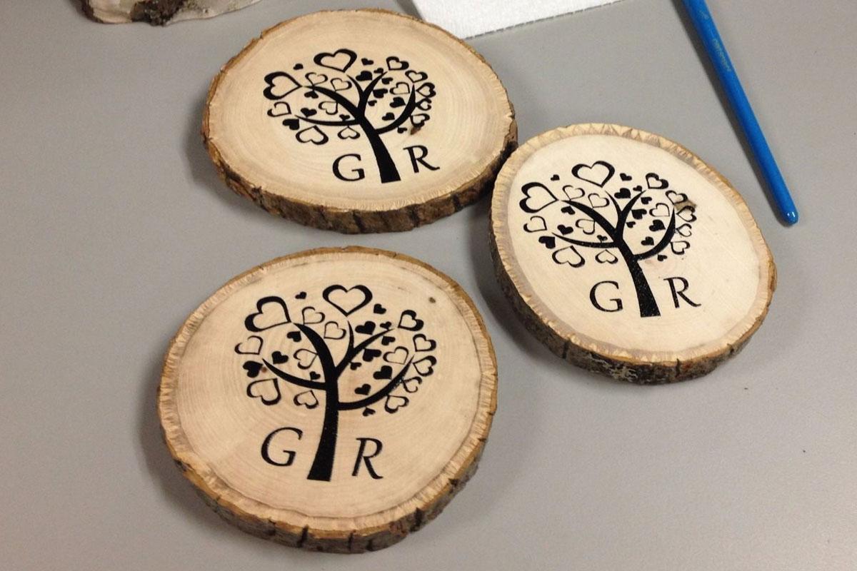 آموزش ویدئویی روشهای چاپ روی چوب به طور کاربردی