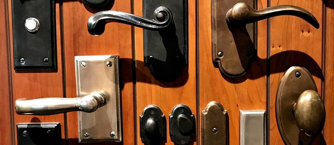 انواع دستگیره درب