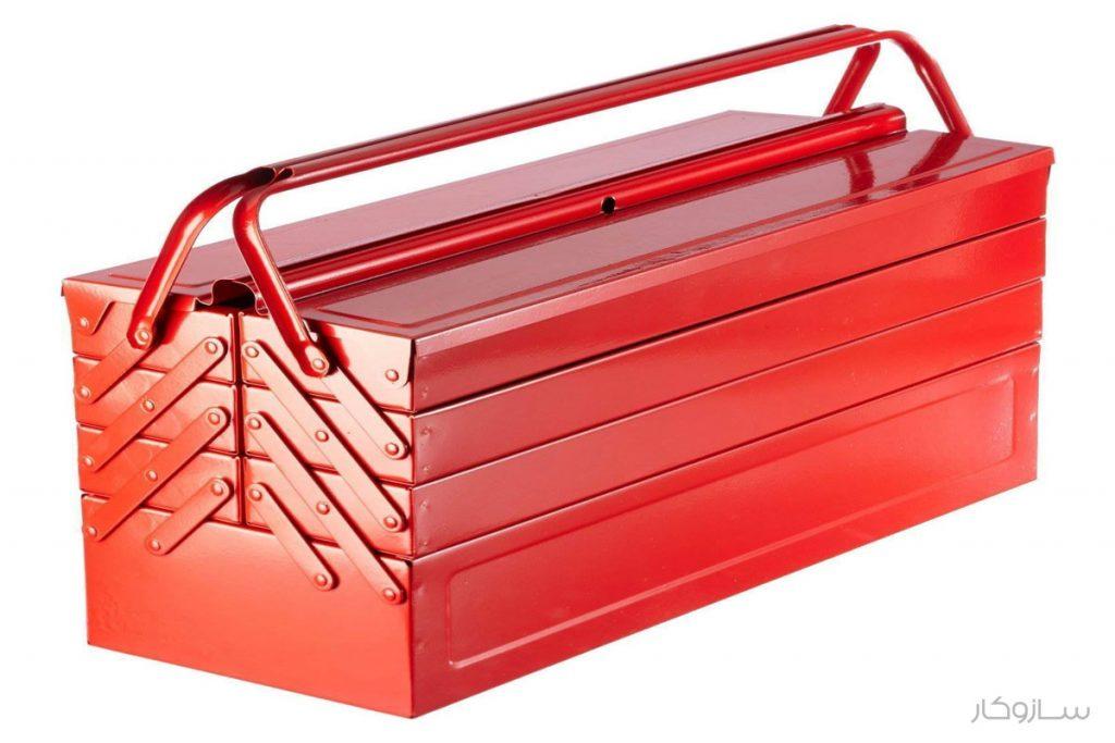 جعبه ابزار فلزی