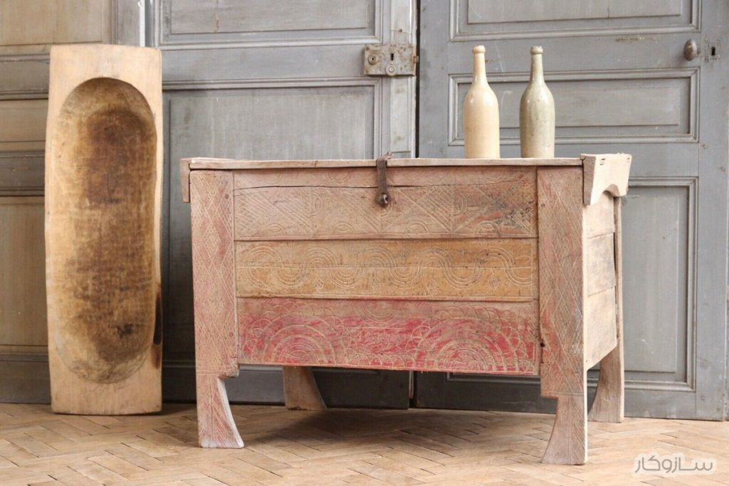 صندوق چوبی