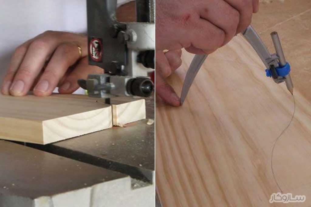 ساخت شلف چوبی