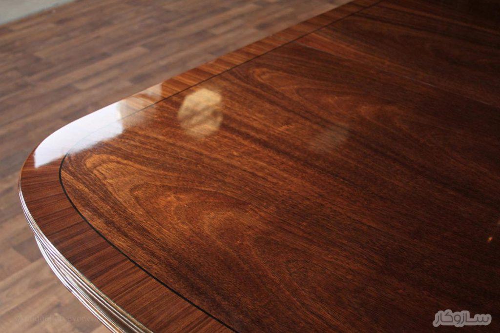 پرداخت چوب با استفاده از روغن تانگ