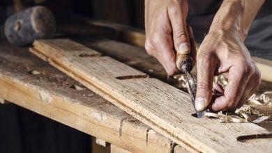 homemade wood carving machine
