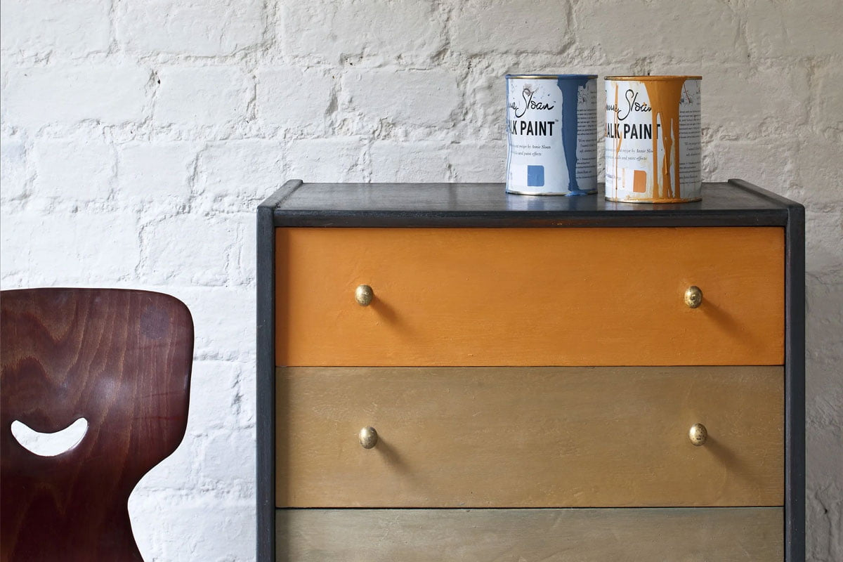 how to paint old furniture