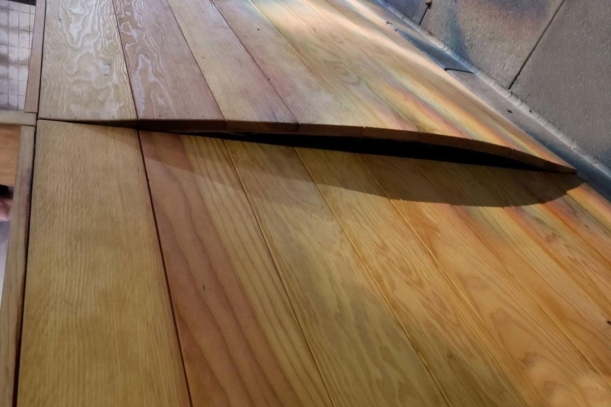 انبساط چوب