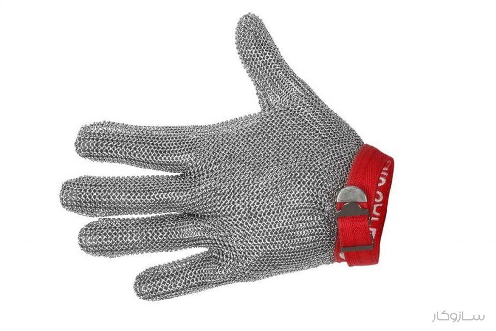 دستکش زنجیری