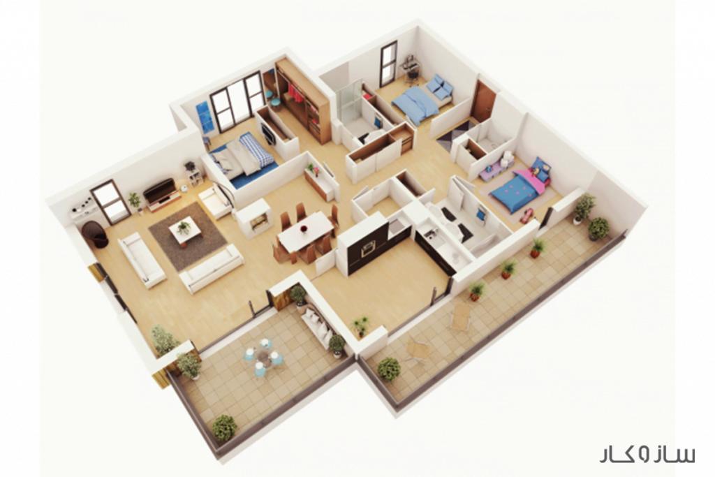 نقشه 3D