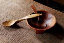 پرداخت ظروف چوبی