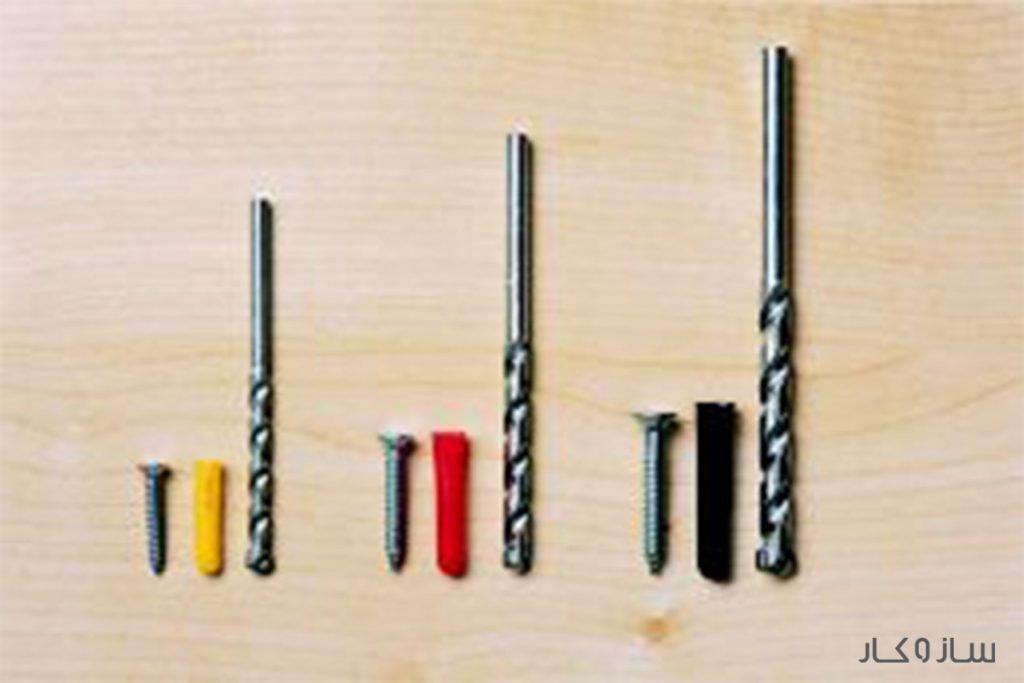 انواع سایز پیچ و رولپلاک