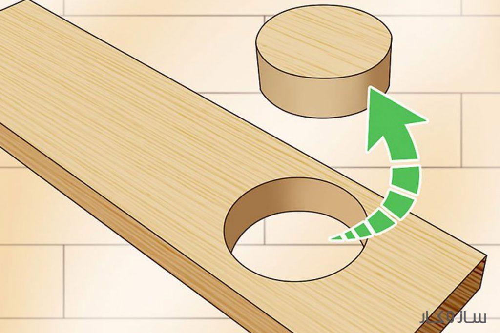 برش دایرهای چوب