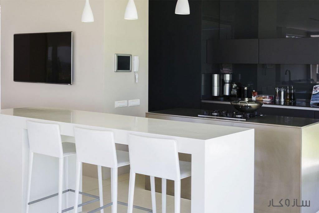 رنگ دکوراسیون آشپزخانه