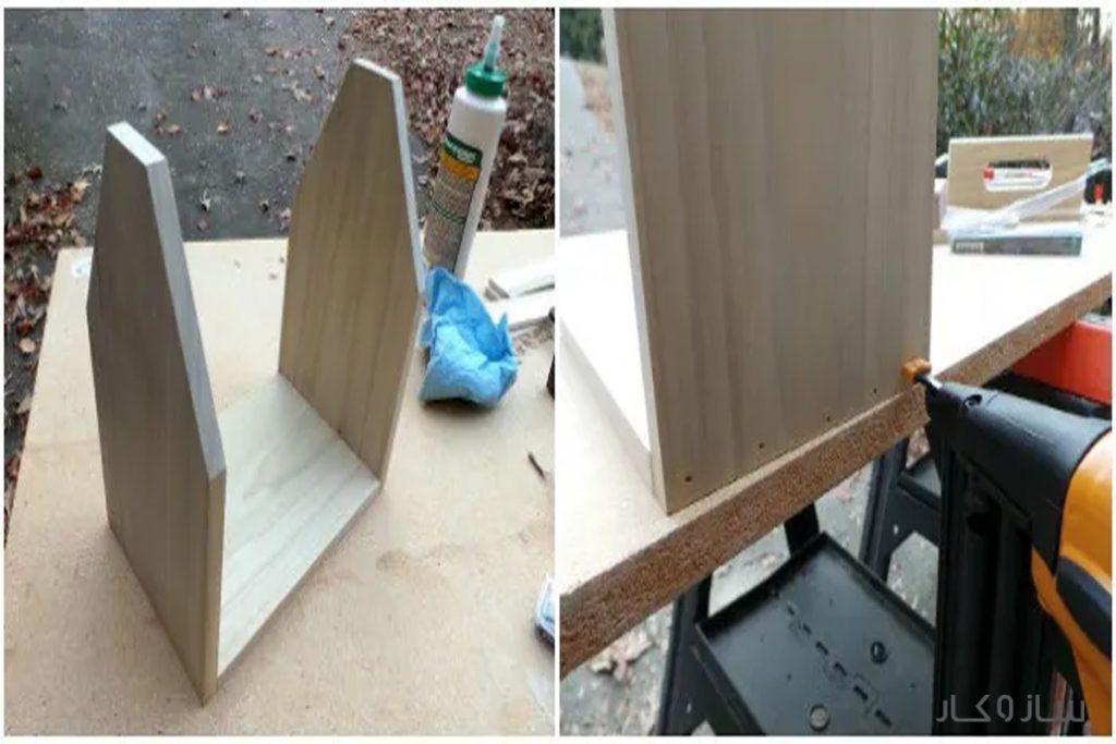ساخت جا بطری چوبی