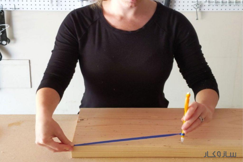 قفسه چوبی