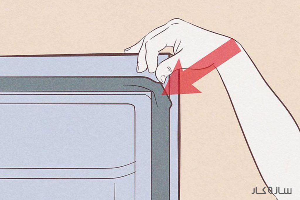 تعویض نوار دور درب یخچال