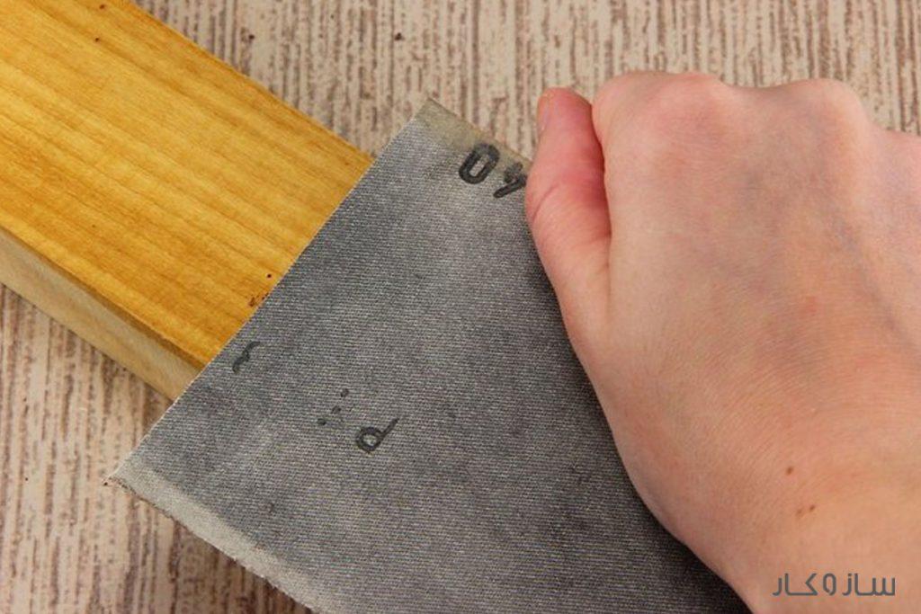 پرداخت چوب با روغن