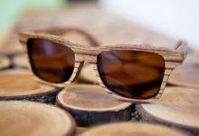 عینک چوبی